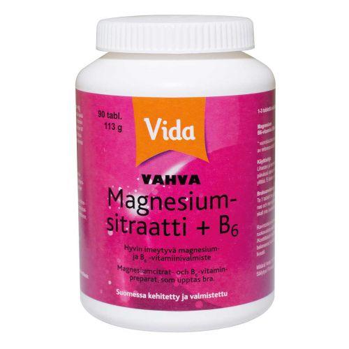 Vida Magnesium  + B6  90 kpl