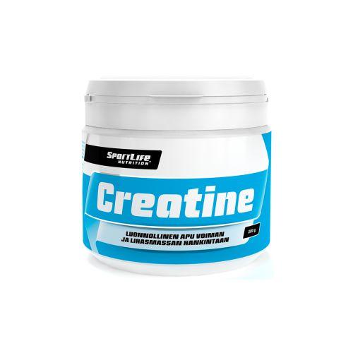 SPORTLIFE NUTRITION CREATINE KREATIINIMONOHYDRAATTIJAUHE 200 G