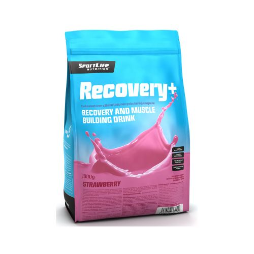 SPORTLIFE NUTRITION RECOVERY+ PALAUTUSJUOMA MANSIKKA 1KG
