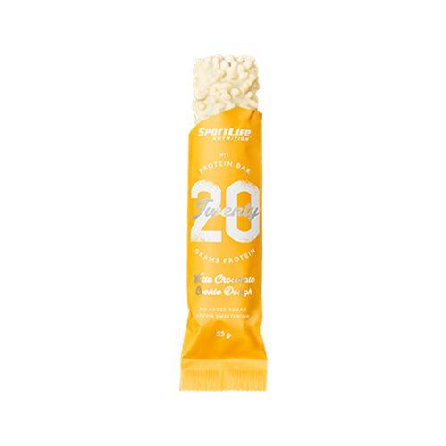 SPORTLIFE NUTRITION TWENTY PROTEIN BAR COOKIE DOUGH 55 G