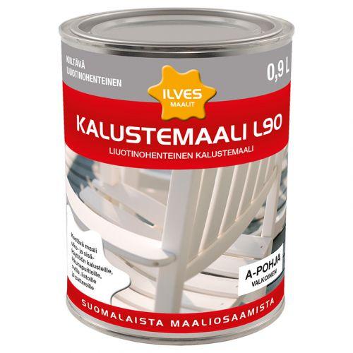ILVES KALUSTEMAALI L90 A-POHJA 0,9L 900 ML
