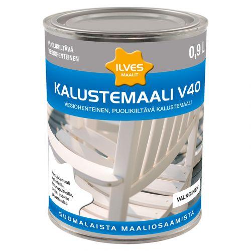 ILVES KALUSTEMAALI V40 C-POHJA 0,9L 900 ML