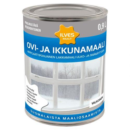 ILVES OVI- JA IKKUNAMAALI C-POHJA 0,9L 900 ML