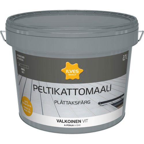 ILVES PELTIKATTOMAALI A-POHJA VALKOINEN 2,7L 2,7 L