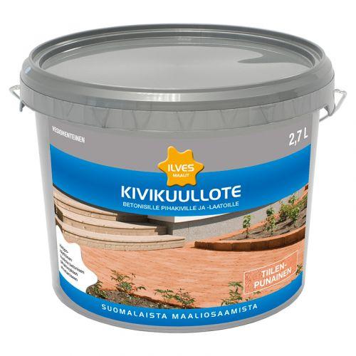 ILVES KIVIKUULLOTE TIILENPUNAINEN 2,7L 2,7 L