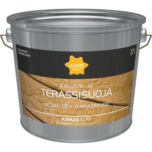 ILVES KALUSTE- JA TERASSISUOJA KIRKAS 2,7L 2,7 L