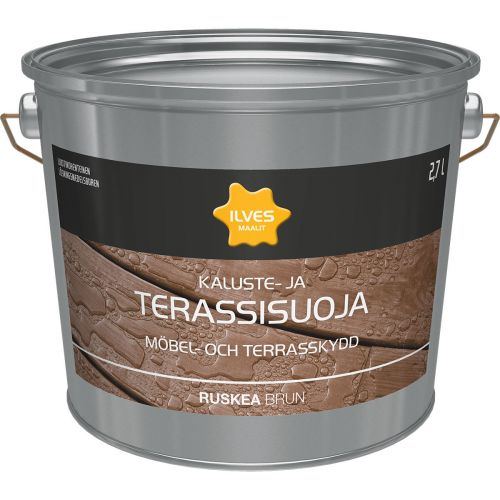 ILVES KALUSTE- JA TERASSISUOJA RUSKEA 2,7L 2,7 L