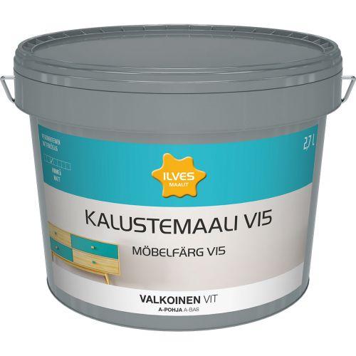 ILVES KALUSTEMAALI V15 A-POHJA VALKOINEN 2,7L 2,7 L