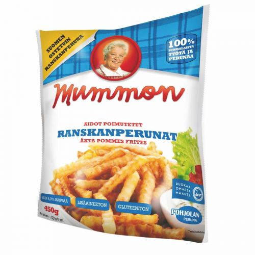 MUMMON RANSKANPERUNAT 450 G