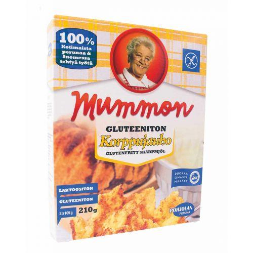 MUMMON KORPPUJAUHO GLUTEENITON 210 G