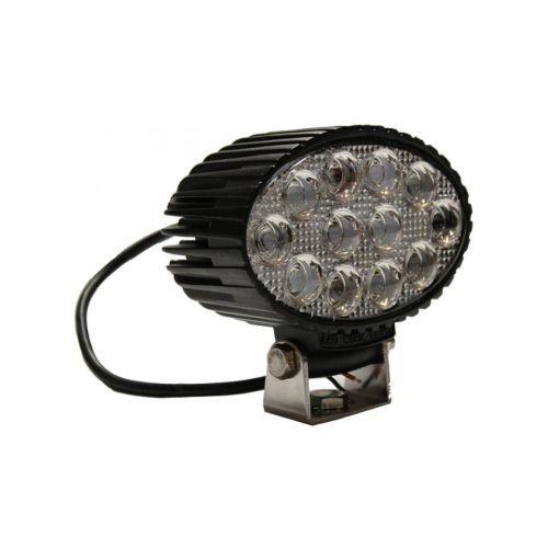 EPISTAR LED TYÖVALO 36W (12X3W) 9-32V 2400LM VESIT