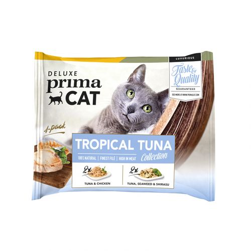 DPC TROPICAL TUNA COLLECTION ANNOSP. 50G 4-PACK 200 G
