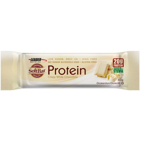 Leader Protein SoftBar Crispy White Chocolate 60 g