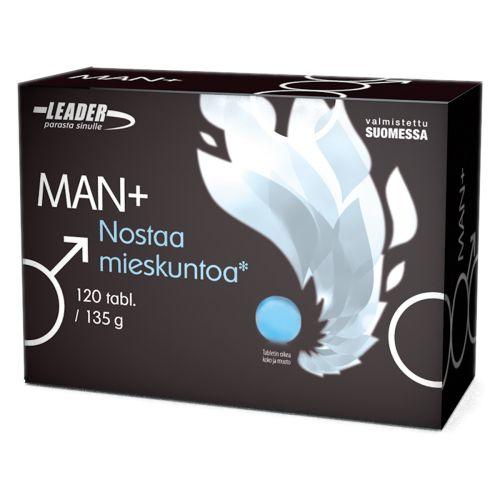 Leader Man+ Nostaa Mieskunto 120 kpl