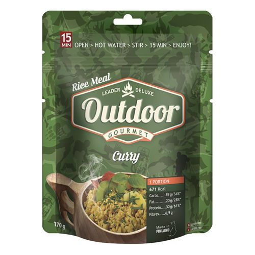 GOURMET OUTDOOR CURRY  170 G