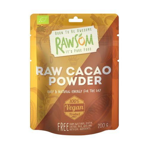 Rawsom Kaakaojauhe Luomu  200 g