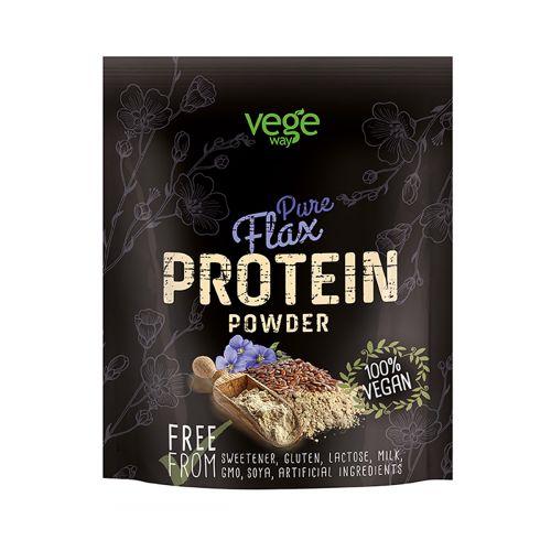 Vegeway Pure Flax Protein Powder Pellavansiemenprot.Jauhe 250 g