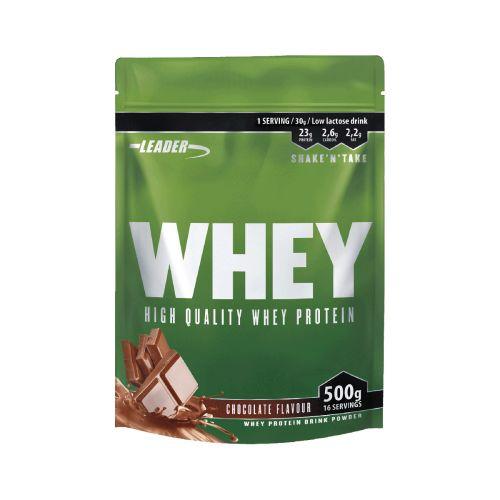Leader Whey Protein+ Proteiinijauhe Suklaa 500 g