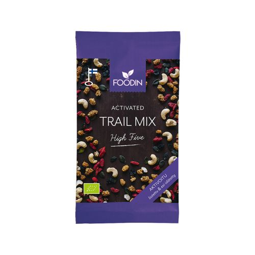 FOODIN HIGH 5 TRAIL MIX AKTIVOITU LUOMU 70 G