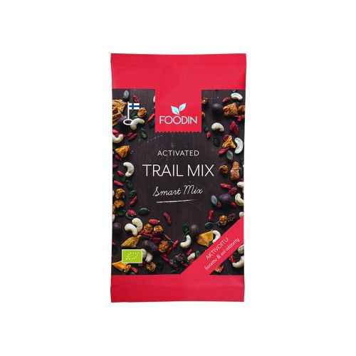 FOODIN SMART MIX TRAIL MIX AKTIVOITU LUOMU 70 G