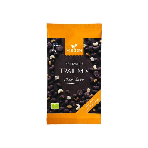 FOODIN CHOCOLOVE TRAIL MIX AKTIVOITU LUOMU 70 G