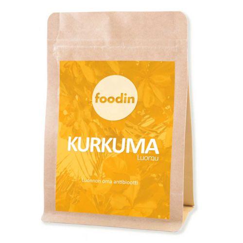 FOODIN KURKUMA LUOMU 100 G
