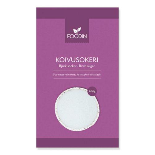 FOODIN KOIVUSOKERI, KOTIMAINEN 200 G