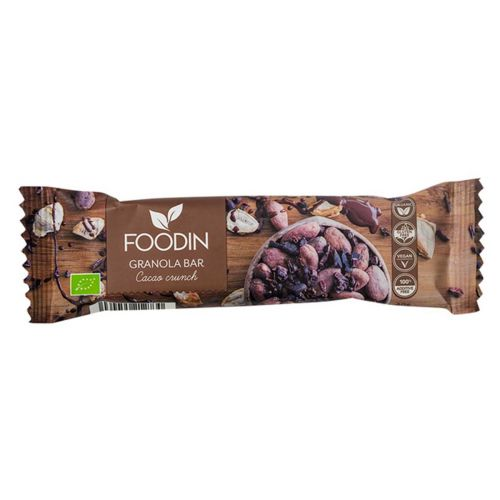 FOODIN GRANOLA BAR CHOCOLATE BLISS LUOMU 40 G