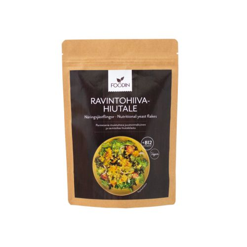 FOODIN RAVINTOHIIVAHIUTALE + B12 100 G