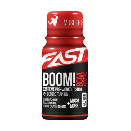 FAST BOOM! BCAA MARJA ENERGIASHOTTI 60 ML