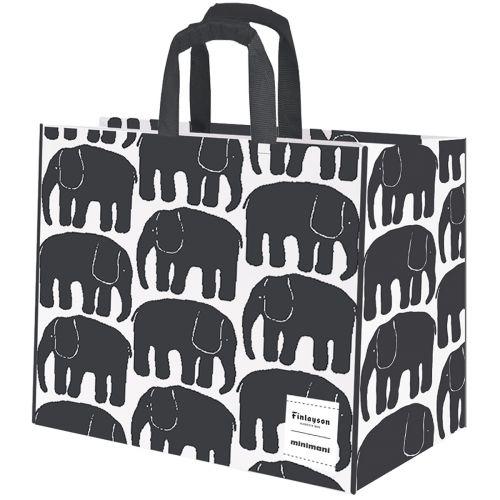 Kestokassi elefantti mustavalk