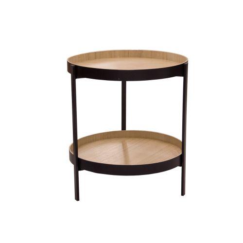 Living pöytä kahdella tasolla 45x51cm