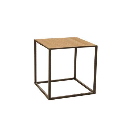 Living pöytä metalli-natural 40x40x40cm