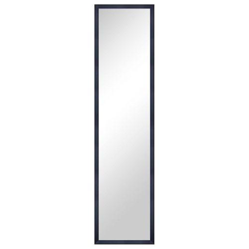Living peili 33x123cm oven päälle musta
