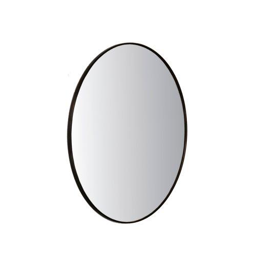 Living peili pyöreä 80cm kehyksellä
