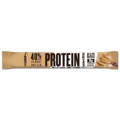 Leader 40% Protein + BCAA Patukka Maapähkinävoi 68 g