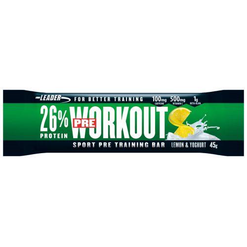 Leader Pre-Workout Bar Lemon-Yoghurt 45 g