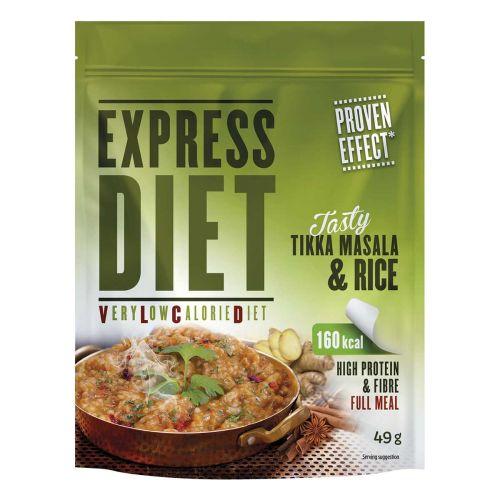 EXPRESS DIET ATERIA-AINES TIKKA MASALA RIISI 49 G