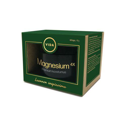 VIDA KUULAS MAGNESIUM 4X 60 KPL