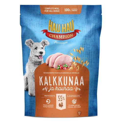 HHC TÄYSRAVINTO KALKKUNA-KAURA 1,5 KG