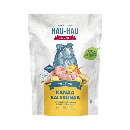 HHC VILJATON KOIRAN TÄYSRAVINTO KANA-KALKKUNA 1,5 KG