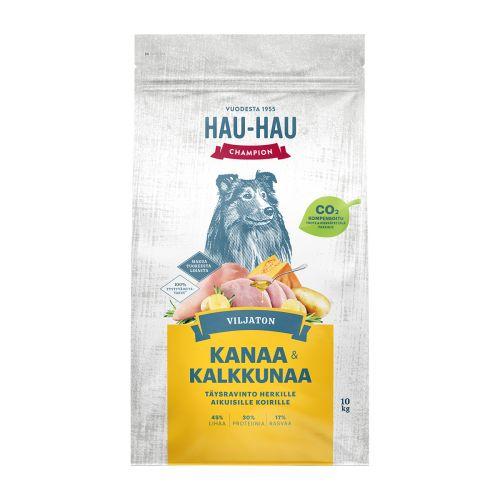 HHC VILJATON KOIRAN TÄYSRAVINTO KANA-KALKKUNA 10 KG
