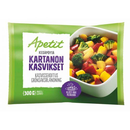 APETIT KARTANON KASVIKSET 300 G