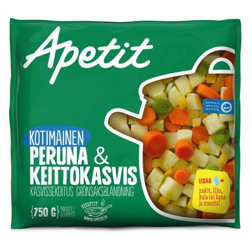 APETIT KOTIMAINEN PERUNA&KEITTOKASVIS 750 G