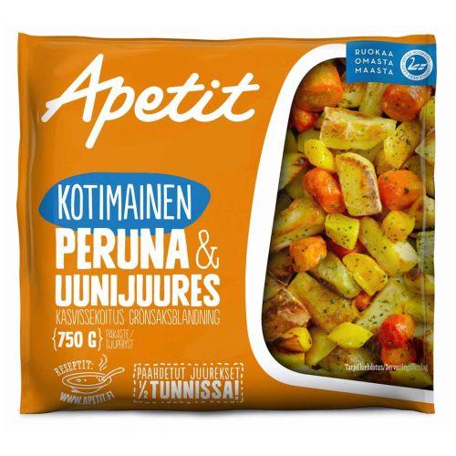 APETIT KOTIMAINEN PERUNA&UUNIJUURES 750 G