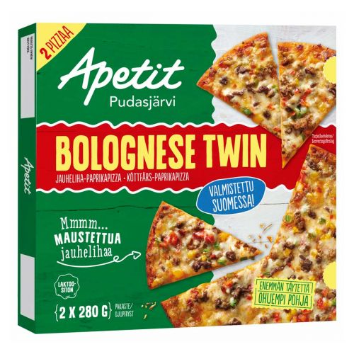 APETIT PIZZA BOLOGNESE TWIN 560 G