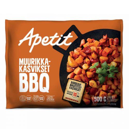 APETIT MUURIKKA-KASVIKSET BBQ  500 G