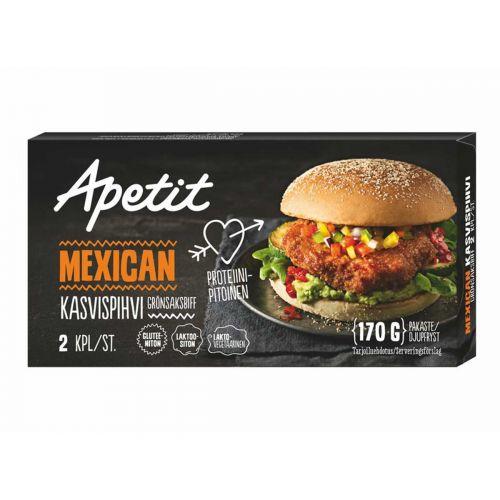 APETIT KASVISPIHVI MEXICAN 2KPL 170 G