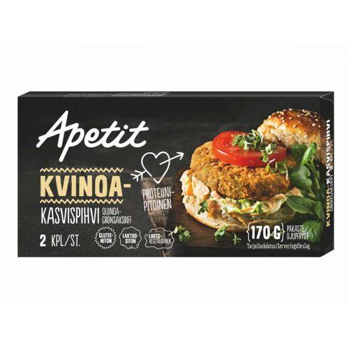 APETIT KASVISPIHVI KVINOA 2KPL 170 G