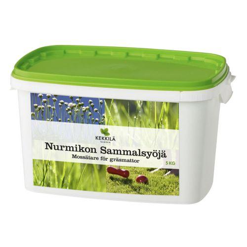 KEKKILÄ NURMIKON SAMMALSYÖJÄ PAKKI 5KG